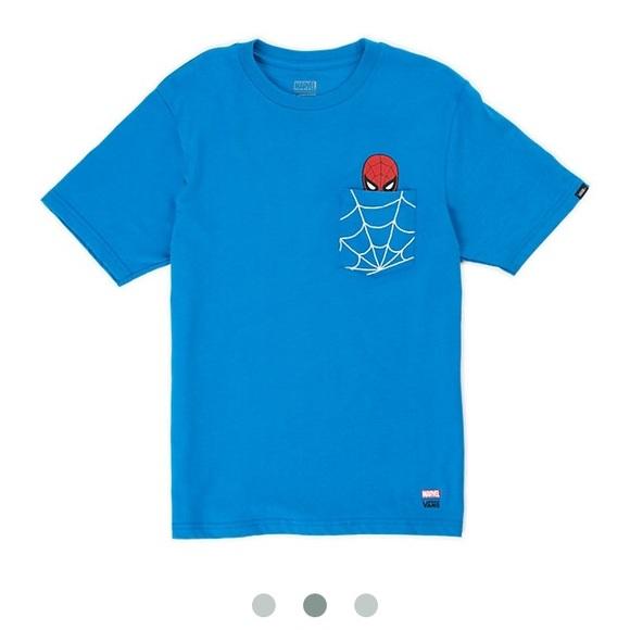 2ef25c4c6a3dd3 ️kids vans x marvel spider-man shirt